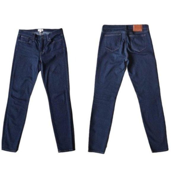 J.Crew Toothpick Dark Wash Skinny Women's Jeans 27